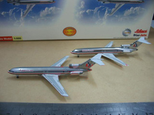 StarJets 1:500 727-200 American Airlines alloy aircraft model A set of two Collection model