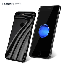 ICONFLANG For iPhone 7 7 Plus Case Unique Design Phone Case For Apple iPhone 7 7 Plus Solid Color Phone Accessories Cover(China)