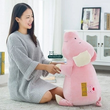 Dorimytrader 80cm Giant Lovely Soft Cartoon Pig Stuffed Pillow 31'' Big Plush Animal Toy Baby Sleeping Doll Kids Gift DY61359