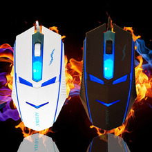 2015 Promotion New Arrival 3200DPI LED Blu-ray Transformers Adjustable USB Optical Wired Gaming Mouse Mice for Gamer PC Computer(China)