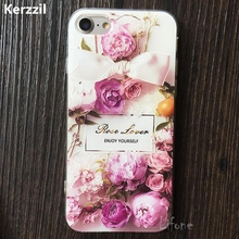 Buy Kerzzil 3D Relief Retro Lace Roses Flower Blossom Phone Case iPhone 7 6 6s Plus Soft Cartoon Back Cover iPhone 6 6s Capa for $1.89 in AliExpress store