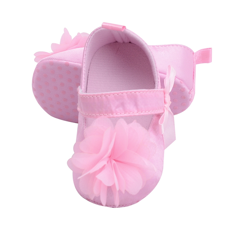 Flower Spring / Autumn Infant Baby Shoes Moccasins Newborn Girls Booties for Newborn 3 Color Available 0-18 Months 10