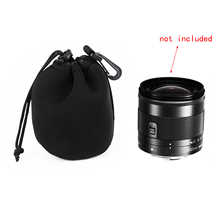 Besegad Drawstring Soft Neoprene Camera Lens Pouch Sleeve Storage Bag Cover Sony Canon Nikon Pentax Olympus S Size DSLR - GosearElectronic Store store