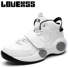 LOVEXSS Fall2017 Height Increasing Basketball Shoes For Men High Elastic Sport Shoes Man Brand Ankle Boots Baloncesto Sneakers(China)