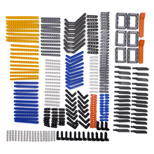New 280pcs model building blocks toy boy parts technic building bricks children toys compatible accessories studless beams frams(China)