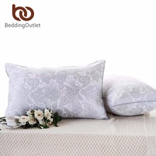 BeddingOutlet Floral Printed Pillow Paisley Soft Bedding Neck Down Alternative Sleeping Body Pillow Elegant 48cmx74cm Bedclothes(China)