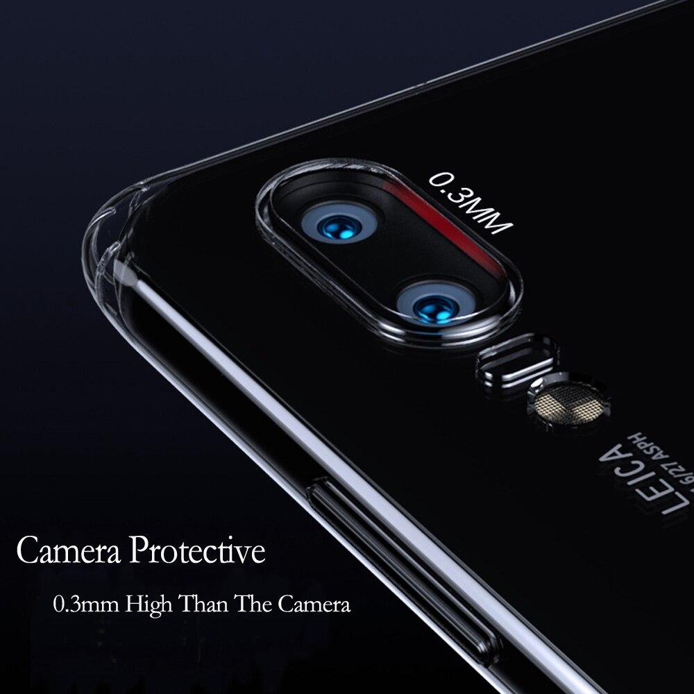 FLOVEME-Case-For-Huawei-P20-1P10-P9-P8-Lite-P10-Plus-Transparent-Ultra-Soft-TPU-Case