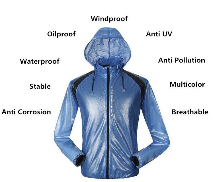 Santic Waterproof Windbreaker Breathable Quick Dry Cycling Raincoat Ultralight Bike Rain Jacket Jersey Bicycle Cycling Raincoat<br><br>Aliexpress