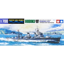 OHS Tamiya 31407 1/700 Hibiki Japanese Navy Destroyer DD Assembly Scale Military Ship Model Building Kits(China)