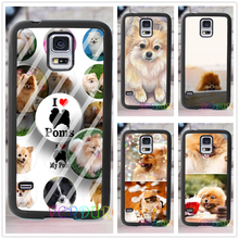 Pomeranian puppy dog cover case for samsung galaxy s3 s4 s5 s6 s7 s6 edge s7 edge note 3 note 4 note 5 #XD80