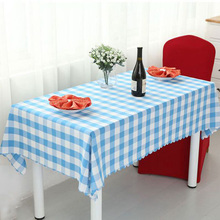 Hot Sale Plaid Rectangle Round TableCloth Garden Picnic TableCloth Red Check Tablecloths Hotel Home Tablecloths For Kitchen(China)