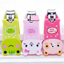 Cute Animal Cartoon Nail Clipper Cutter Trimmer fashion nail clippers professionl Manicure Pedicure Care Scissors