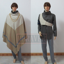 Naruto Cosplay Costume The Movie the Last Uchiha Sasuke Cosplay Costume Anime Cosplay Costume Halloween Costume for Men(China)