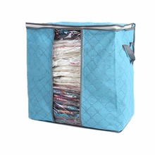 NNewest 46*30*48cm Foldable Flower Printed Quilt Sorting Anti-bacterial Clothing Organizer Storage Box 1pcs Quality First