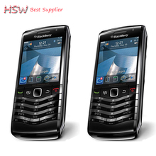 100% Original BlackBerry Pearl 9105 Mobile Phone 3G GSM WiFi Smartphone Quadband Unlocked(China)