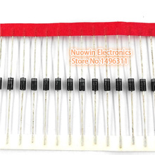 100PCS IN5817 DO-41 1A 20V SCHOTTKY DIODE 1N5817
