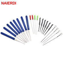 Hardware Lock-Pick-Set Hand-Tools-Supplies Auto-Extractor-Removal-Hooks Naierdi-Locksmith