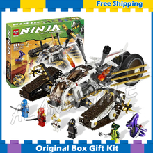 622015 new Bela 9788 Ninja Ultra Sonic Raider Building Blocks Set Toys Gifts Kids Compatible lego - Cheery baby store