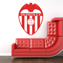 Modern Art Design Spanish Valencia CF Football Marks Wall Sticker Vinyl Removable Soccer Club Signs Home Decor Wall Decals M801