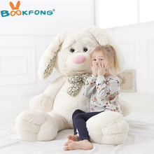 BOOKFONG 60cm New Arrival Cute Soft Cartoon Rose Incense Rabbit Plush Toy Jumbo Lovely Stuffed Doll Great Birthday Gift