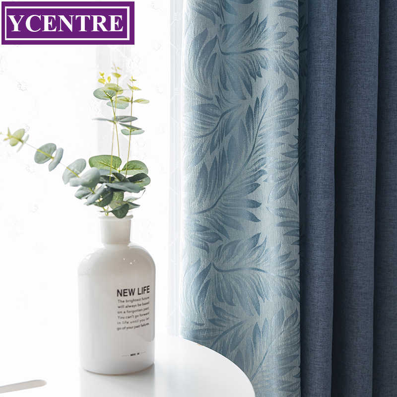 YCENTRE Joining the curtain Modern Style Curtain Window Treatment Drapes Noise Blocking Curtains Blinds for Bedroom Living Room