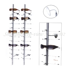 NOC-C-12PC-90CM China Cheapest Without Lock Aluminum Alloy Sunglasses Display Stand