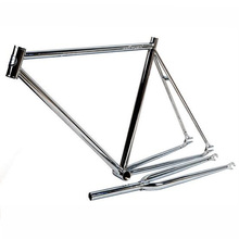 Frame Bike Accessories Chrome Molybdenum Steel Frame 53cm Road Bike Frameset Fixed Gear Bicycle Accessories With Fork