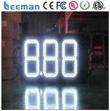 leeman led fuel price board & gas price changer & oil price sign,oil/petrol station!!! 7segment Digital led gas price signs