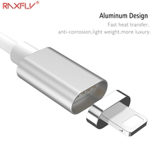 RAXFLY Magnetic Charge Cable For iPhone 6 6s Plus 7 7 Plus 5 5s SE USB Charger Data Cable For iPad iPod Mobile Phone Accessories