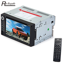 2 Din Car DVD Player Disc Slot DIVX/DVD /VCD/CD/USB/Bluetooth 2din Auto Multimedia Video Player With Remote Controller