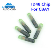 5pcs/lot ID48 Chip For CBAY Handy Baby Car Key Copy JMD Handy Baby Auto Key Programmer id 48 Chip free shipping(China)