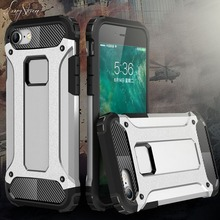 [Long Steven] For iPhone SE Case Unique Armor Anti-Knock Attached Dust Cap Cover For iPhone 5s Case For iPhone 5 Case Funda