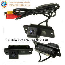 Night Vision Auto Car Reverse Camera Rear View Backup Parking Cam CCD 170 Degrees Wide Angle for BMW 3/7/5 Series E39 E46 E53(China)