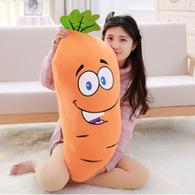 Manufacturers selling Carrot plush toys creative simulation bread pillow queen size sofa Decor 50cm Birthday gift(China)