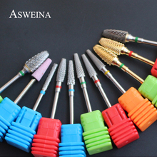ASWEINA 11 Types To Choice Pro Super Quality Carbide Nail Drill Bits For Manicures Nail Art Tools Drills Nail Accessories