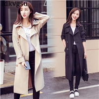 2018-New-Spring-Autumn-Women-Trench-Coat-Casual-Plus-Size-Double-Breasted-Long-Windbreaker-Outerwear-Lady