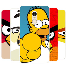 xiaomi redmi note 4 Case,Silicon Popular Cartoon Painting Soft TPU IMD Back Cover for xiaomi redmi note4 Transparent Phone Bags