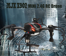 F16531 MJX X902 2.4G Mini RC Drone Quadcopter 6 Axle Cool Helicopter Led Light for Night Flight 3D Rollover Upgrade X901 X900