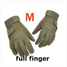 Free Shipping Tactical Gloves Army Combat Men Military Police Soldier Paintball Outdoor Sport Hunt Mitten DM6#(China)