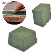 She Love Green Bar Polishing Wax  Compound Engraving Accessories Leather Strop Sharpening