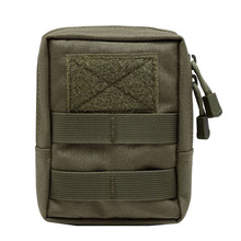 600D Outdoor Military Tactical Life Bag Multifunctional Tool Pouch EDC Springs Hinge Hunting Durable Belt Packs