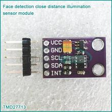 Face detection close distance illumination sensor module TMD27713