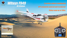 Wltoys F949 Cessna-182 Sky King 2.4G Radio Control 3CH RC Airplane Fixed Wing Plane VS WLtoys F929 F939 F959