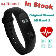 In Stock! Original Xiaomi Mi Band 2 Miband2 Wristband Bracelet with Smart Heart Rate Fitness Touchpad OLED Screen band2