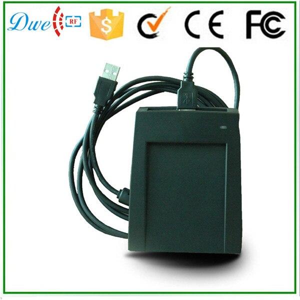 DWE CC RF USB RFID proximity 13.56mhz card reader encipher<br>