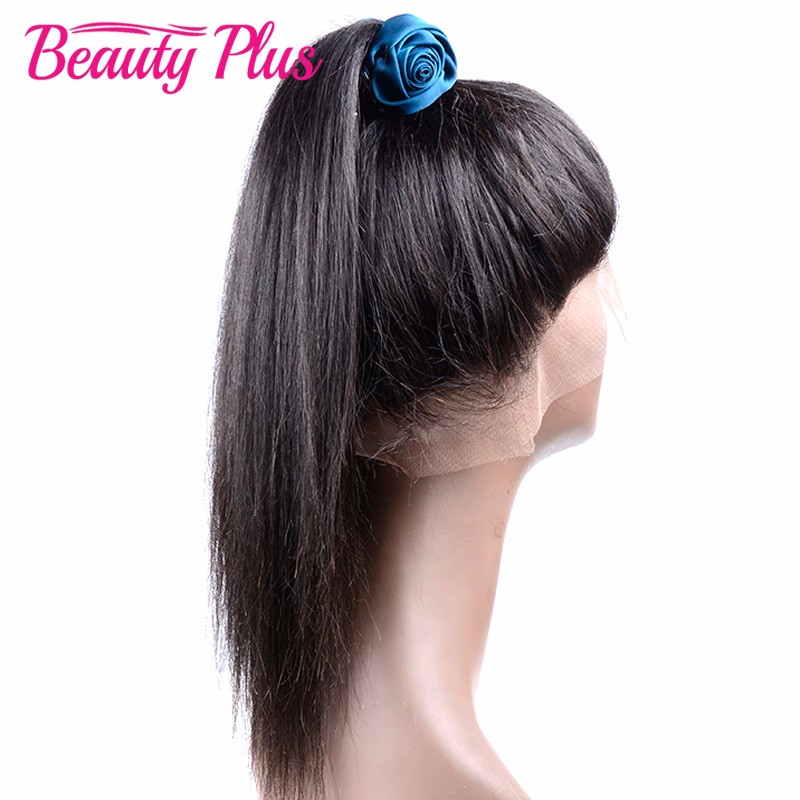 Peruvian Virgin Hair Straight 360 Lace Frontal Closure Full Lace Human Hair 360 Frontal Lace Closure Pre Plucked Band Frontal<br><br>Aliexpress
