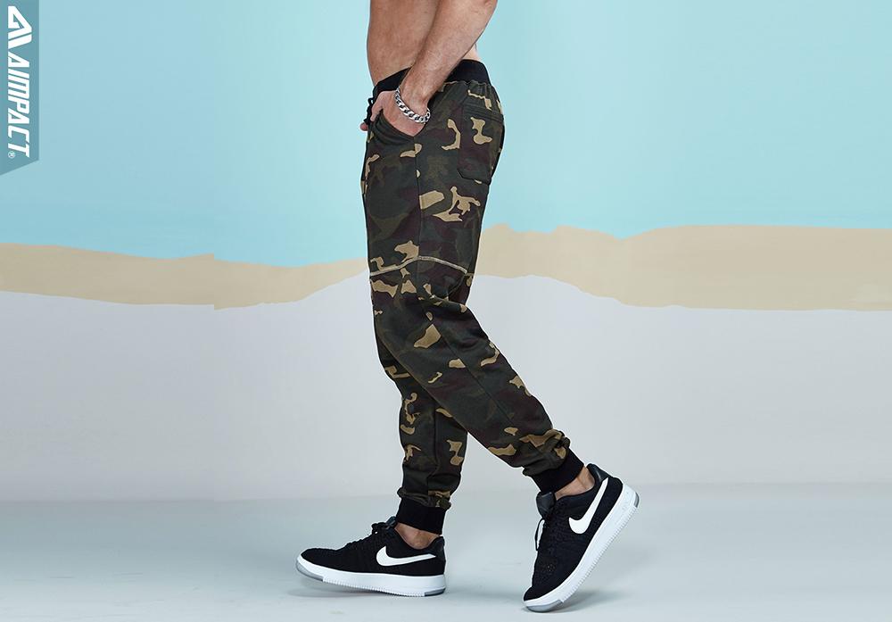 Aimpact 2017 New Camouflage Jogger Pants Men Cotton Sweatpants  (7)