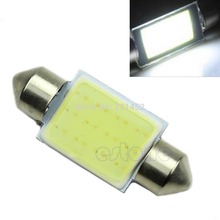 5pcs/lot Bright White Festoon CAN BUS 36mm C5W PLASMA COB LED SIZE Interior SMD Bulb