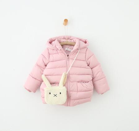 2017 girl autumn and Winter warm clothes coats with zipper childrens clothing wholesale girls lamb gown thicker coatОдежда и ак�е��уары<br><br><br>Aliexpress