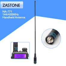 NA-771 SMA-Female144/430Mhz Dual Band Antenna for Baofeng Handheld Radio TG-UV2 UV-5R KG-UVD1P BF-888S TH-UVF9 VX-3R UV-82(China)